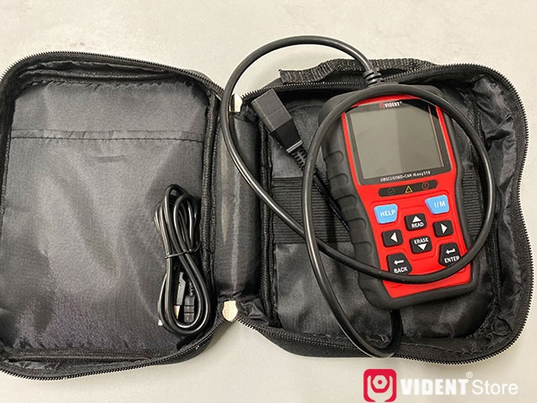 Scan Toyota Camry using Vident iEasy310 Code Reader
