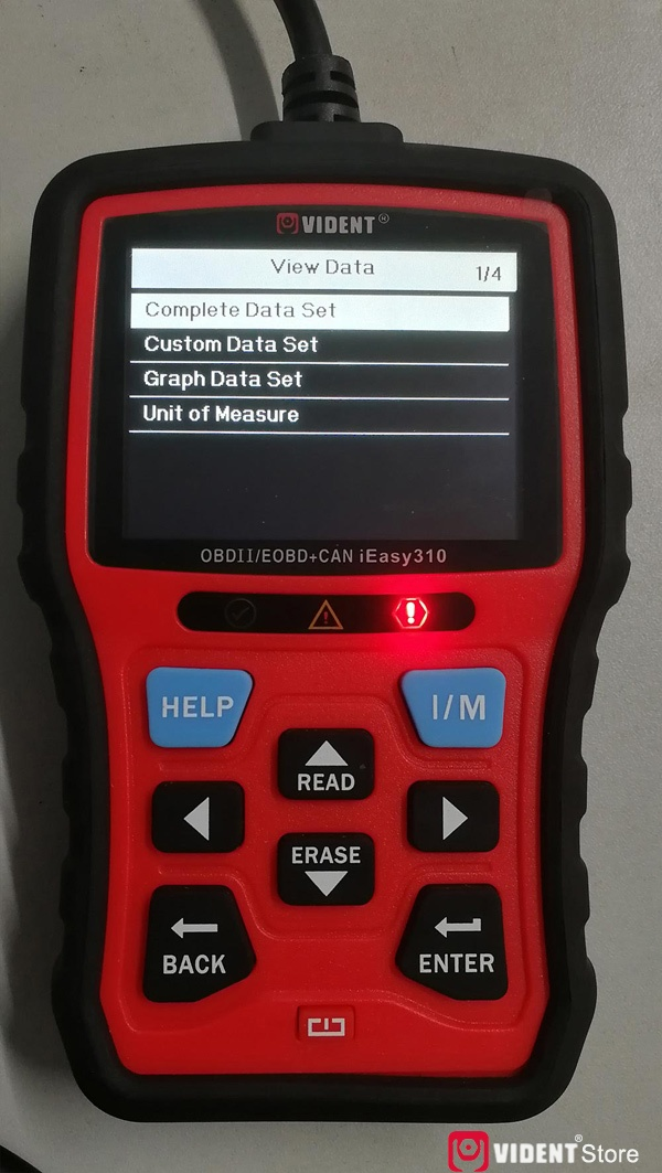 Scan Toyota Camry Using Vident Ieasy310 15