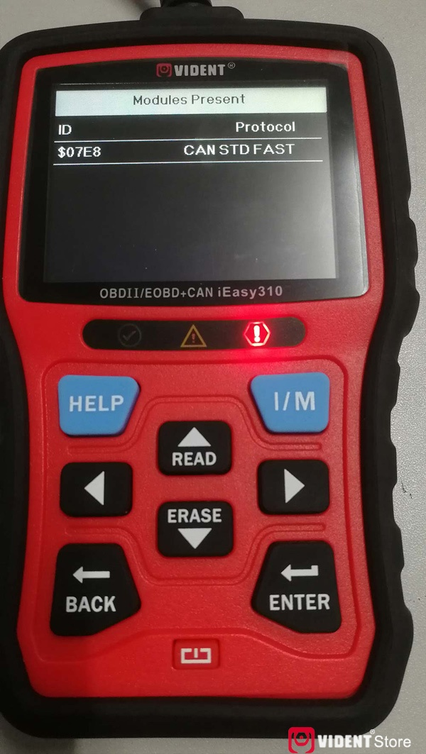 Scan Toyota Camry Using Vident Ieasy310 35