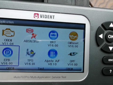 Vident Iauto702 Pro Done Epb For Mercedes 2018 E Class 01