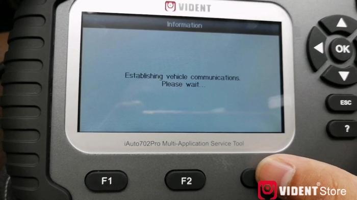 Vident Iauto702 Pro Done Epb For Mercedes 2018 E Class 15