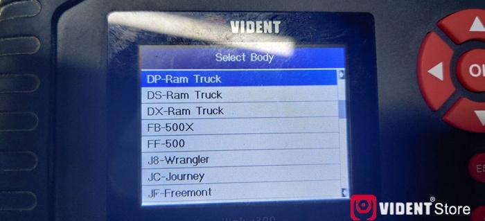 Vident Ilink400 Chrysler Function List 05