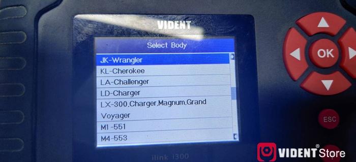 Vident Ilink400 Chrysler Function List 06