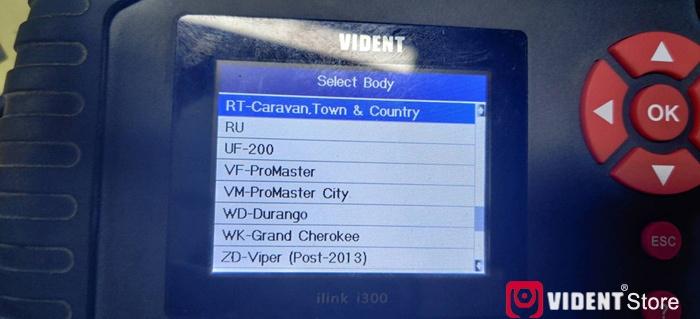 Vident Ilink400 Chrysler Function List 08