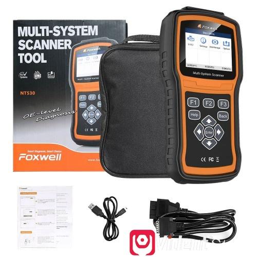 Foxwell Nt530 Chrysler Scanner 03