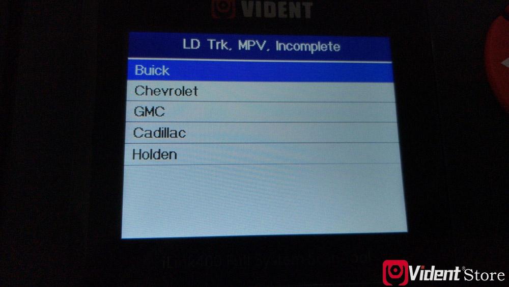 Vident Ilink400 Gm Carlist 5