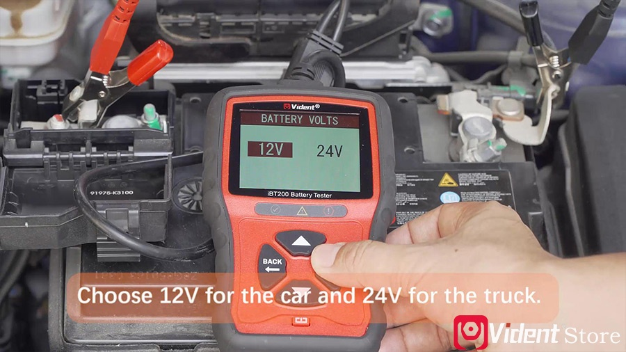 Use Vident Ibt200 9v 36v Battery Tester 05