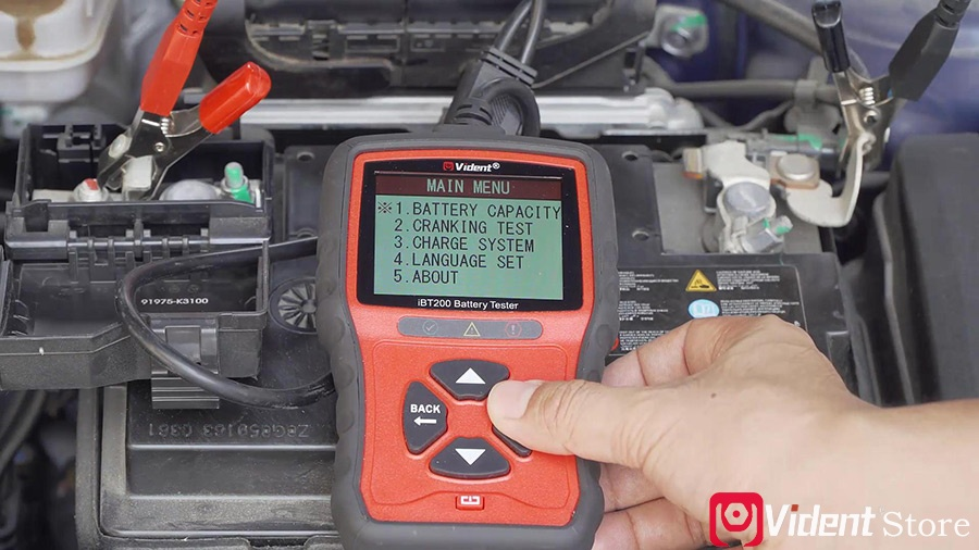 Use Vident Ibt200 9v 36v Battery Tester 06