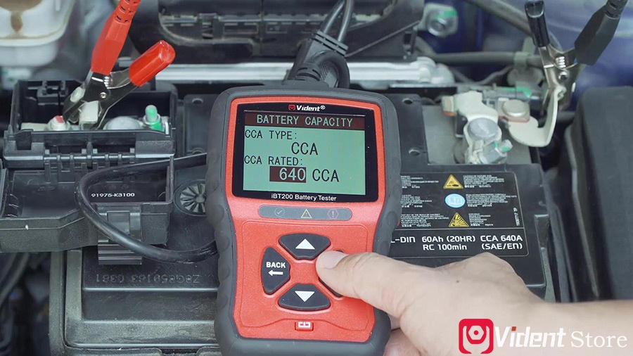 Use Vident Ibt200 9v 36v Battery Tester 08